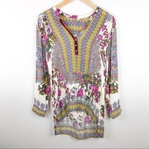 SOFT SURROUNDINGS Paloma Long Sleeve Tunic
